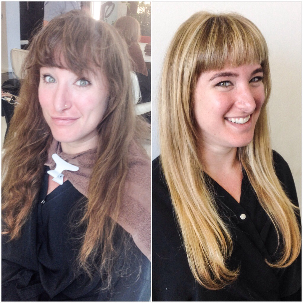 Corey Powell Hair 187 Makeover Monday Brunette To Blonde